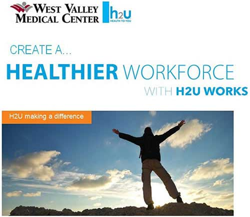 photo of H2U making a difference logo